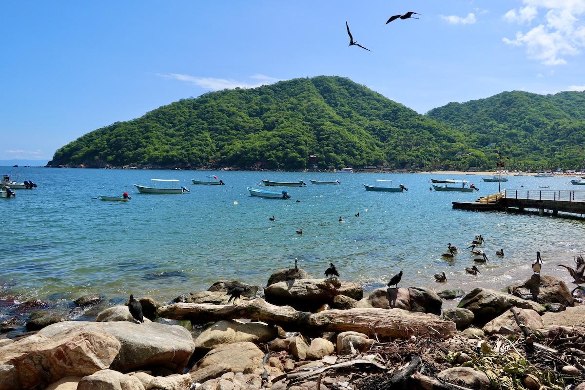 La baie de Yelapa