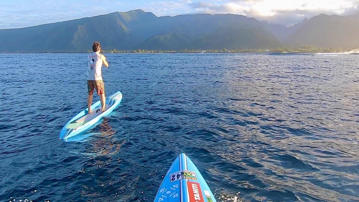 Tahiti SUP