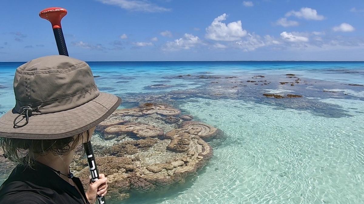 Fakarava paddle
