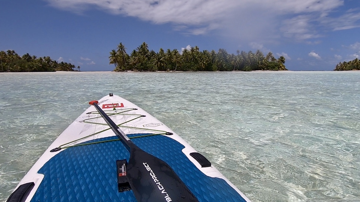 Lagon bleu paddle