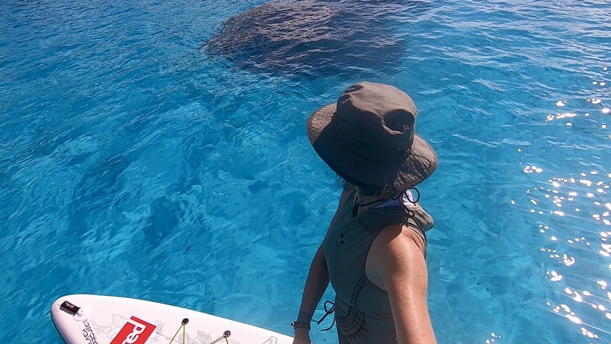 Bora Bora paddle