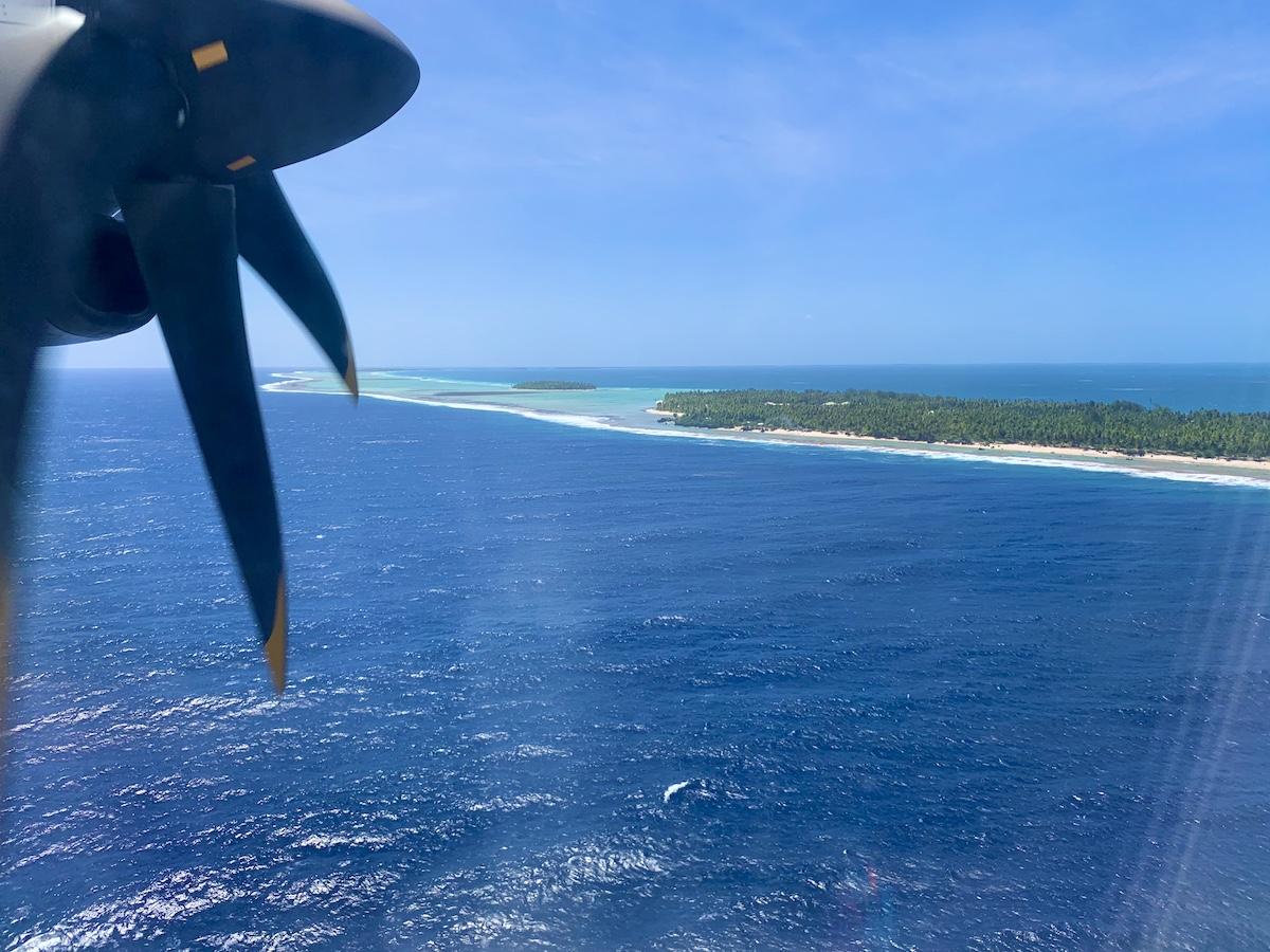 Tikehau vue d'avion