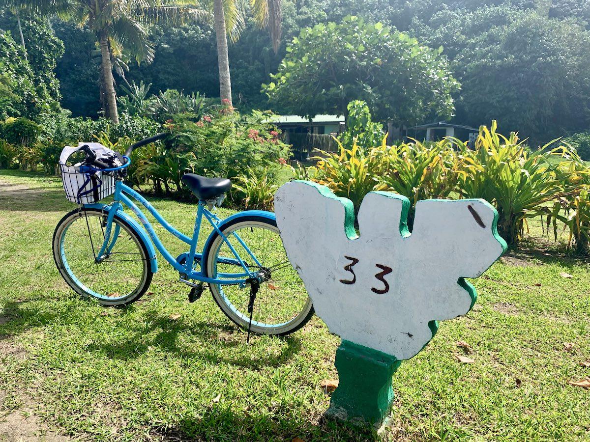 Moorea à vélo