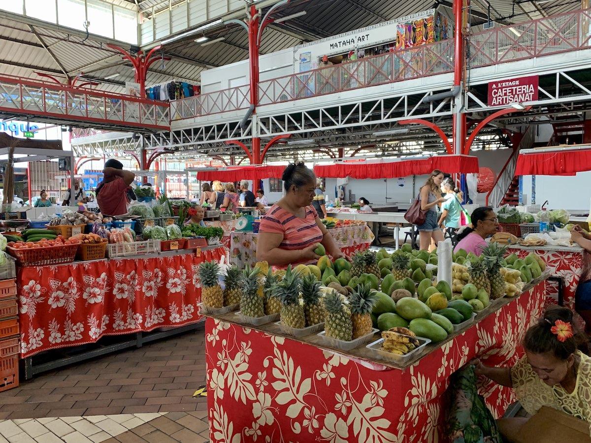 Papeete marché