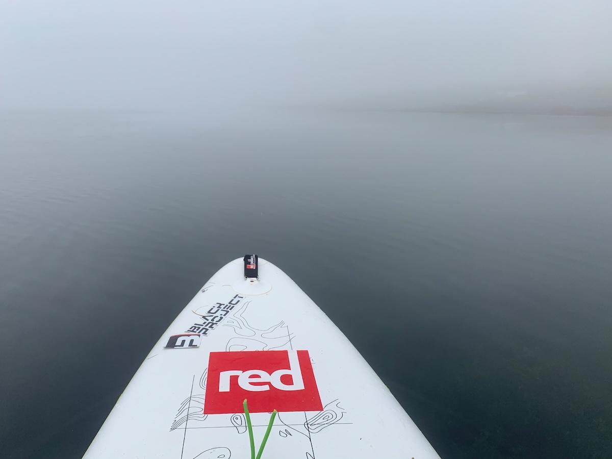 Dans la brouillard